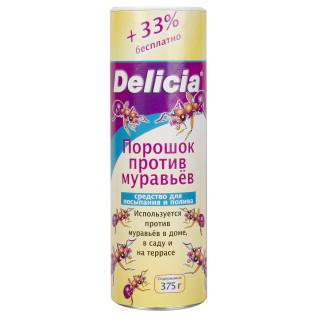 Delicia (Делиция)  Порошок против муравьев 375гр